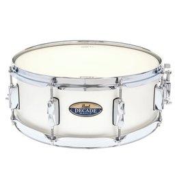 "Pearl - 14x5.5"" Decade Maple DMP Series Snare Drum, White Satiin Pearl"