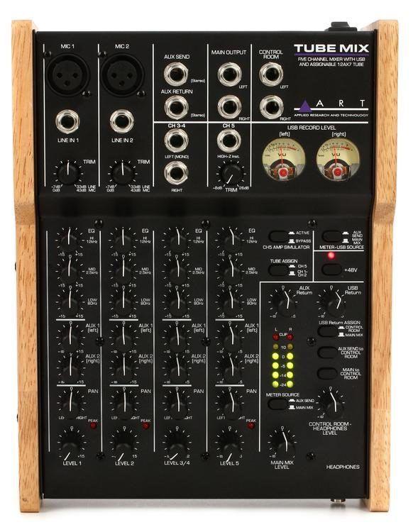 ART - TubeMix Tube Recording Interface/Mixer