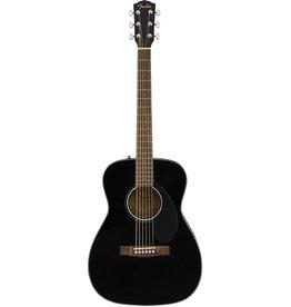 Fender - CC60S Concert Acoustic w/solid top, Black (Starter Pack)