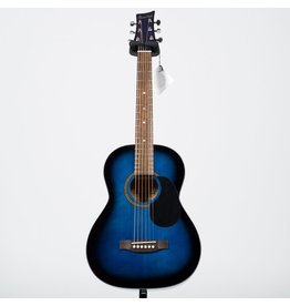 Beaver Creek - 3/4 Size Acoustic, Trans Blue