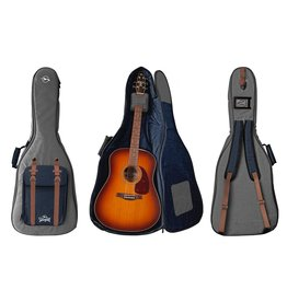 Seagull - Grey & Navy BackPack Gig Bag, Dreadnought