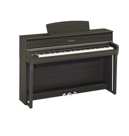 Yamaha - Clavinova CLP-675 Digital Piano, Dark Walnut