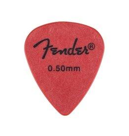 Fender - Rock On Touring Picks, Red, 12 Pack, (.50)