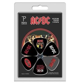 Perri's - Pick Pack, AC/DC 1, 6 Pack