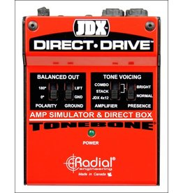 Radial - Tonebone JDX Direct-Drive Amp Simulator and DI Box