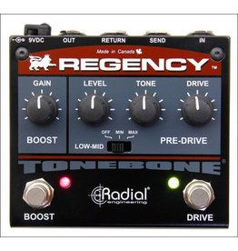 Radial - Tonebone Regency Pre-Drive & Booster