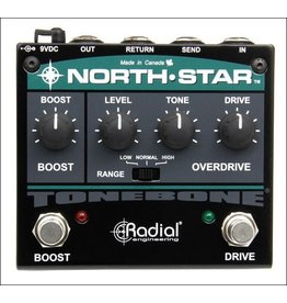 Radial - Tonebone North-Star Overdrive & Power Booster