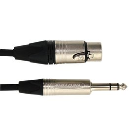 Digiflex - Tourflex Series XLRF to 1/4 TRS Cable, 3'