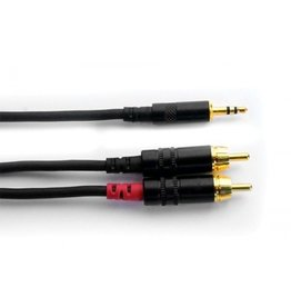 "Digiflex - 1/8"" Stereo to Dual RCA, 10'"