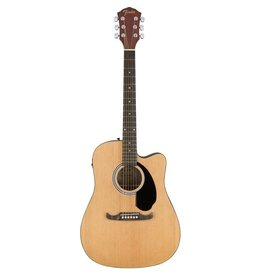 Fender - FA125CE Dreadnought Cutaway Acoustic, Natural