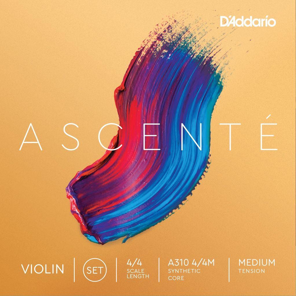 D'Addario - Ascente Violin Strings, 4/4