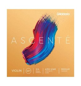D'Addario - Ascente Violin Strings, 3/4