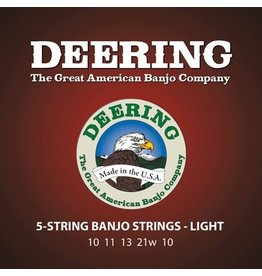 Deering - 5 String Banjo Strings, Light