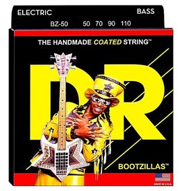 DR Strings - Bootzillas Coated 4 String Bass, 50-110