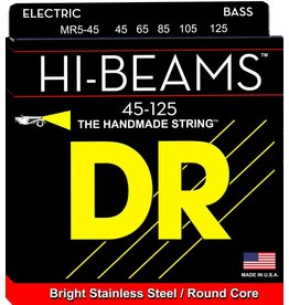 DR Strings - Hi-Beam 5 String Bass, 45-125
