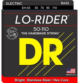 DR Strings - Lo-Rider 4 String Bass, 50-110