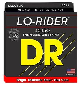 DR Strings - Lo-Rider 5 String Bass, 45-130