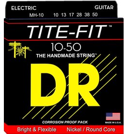 DR Strings - Tite-Fit Electric, 10-50 Light Top Medium Bottom