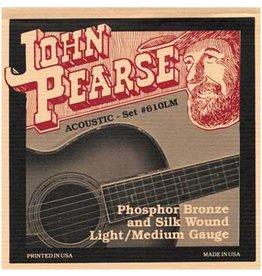 John Pearse - Phosphor Bronze & Silk, 12-53 Light/Medium