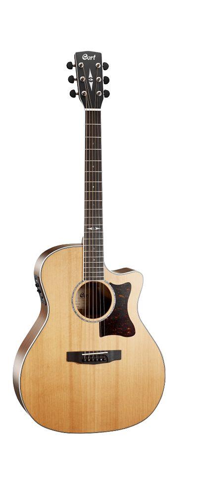 Cort - GA5F-BW Grand Regal Series Grand Auditorium Acoustic w/Pickup