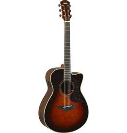 Yamaha - AC3R Folk CW, Solid Spruce/Rosewood, Tobacco Sunburst