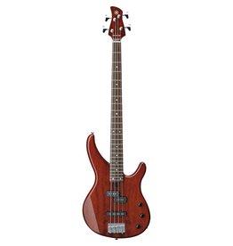 Yamaha - TRBX174EW 4 String Bass, Root Beer