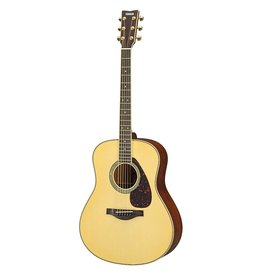 Yamaha - LL16M Solid Acoustic-Electric Guitar, Natural, w/Case