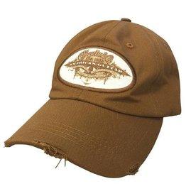 Martin - Americas Guitar Patch Ball Cap, Brown
