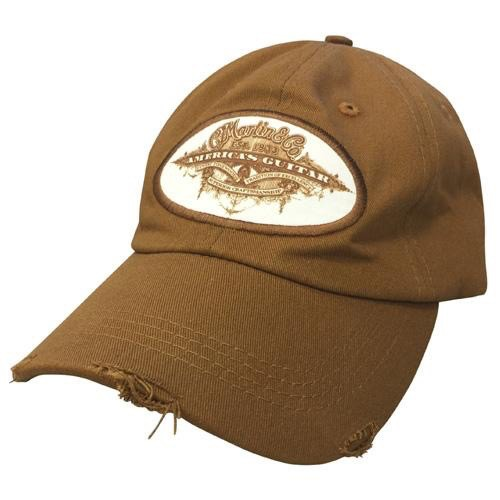 Martin - Americas Guitar Patch Ball Cap, Brown