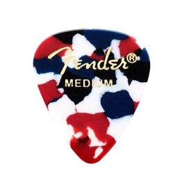 Fender - 351 Celluloid, Confetti, Medium, 12 Pack