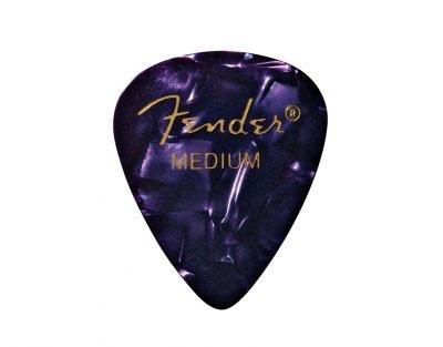 Fender - 351 Celluloid, Purple, Medium, 12 pack
