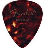 Fender - 351 Celluloid, Shell, Medium, 12 pack