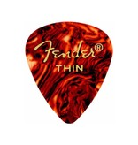 Fender - 351 Celluloid, Shell, Thin, 12 Pack
