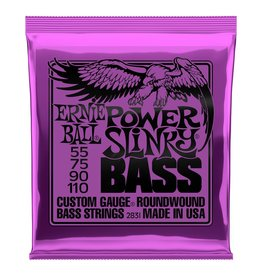 Ernie Ball - Round Wound 4 String Bass 55-110 Power Slinky