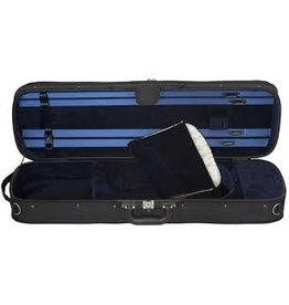 Eastman - CA1904 Oblong Wood Shell/Cordura Cover Violin Case, 4/4