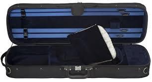 Eastman - CA1904 Oblong Wood Shell/Cordura Cover Violin Case, 4/4