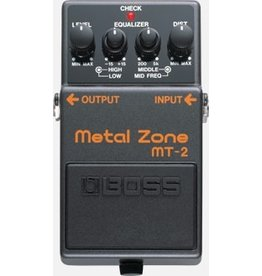 Boss - MT2 Metal Zone Pedal