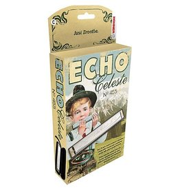 Hohner - 455BX-Eb Echo Celeste Vibrato Harmonica, Eb