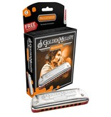 Hohner - 542BX-F Golden Melody, 10 Hole, F