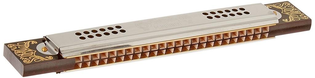 Hohner - 53/48-D Tremolo Harmonica, D