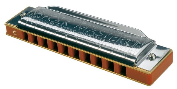 Suzuki - SU-FM1072 Folk Master Harmonica, G