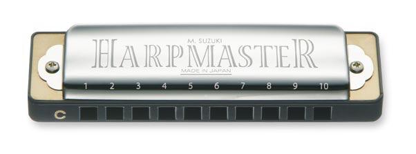 Suzuki - SU-MR200 Harp Master Harmonica, C