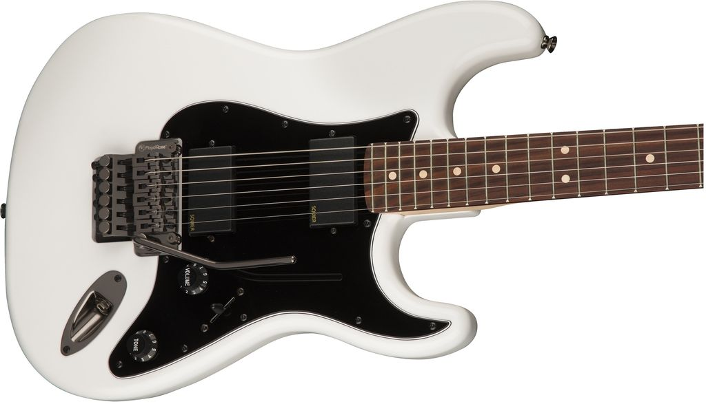 Squier - Contemporary Active Stratocaster HH, Olympic White