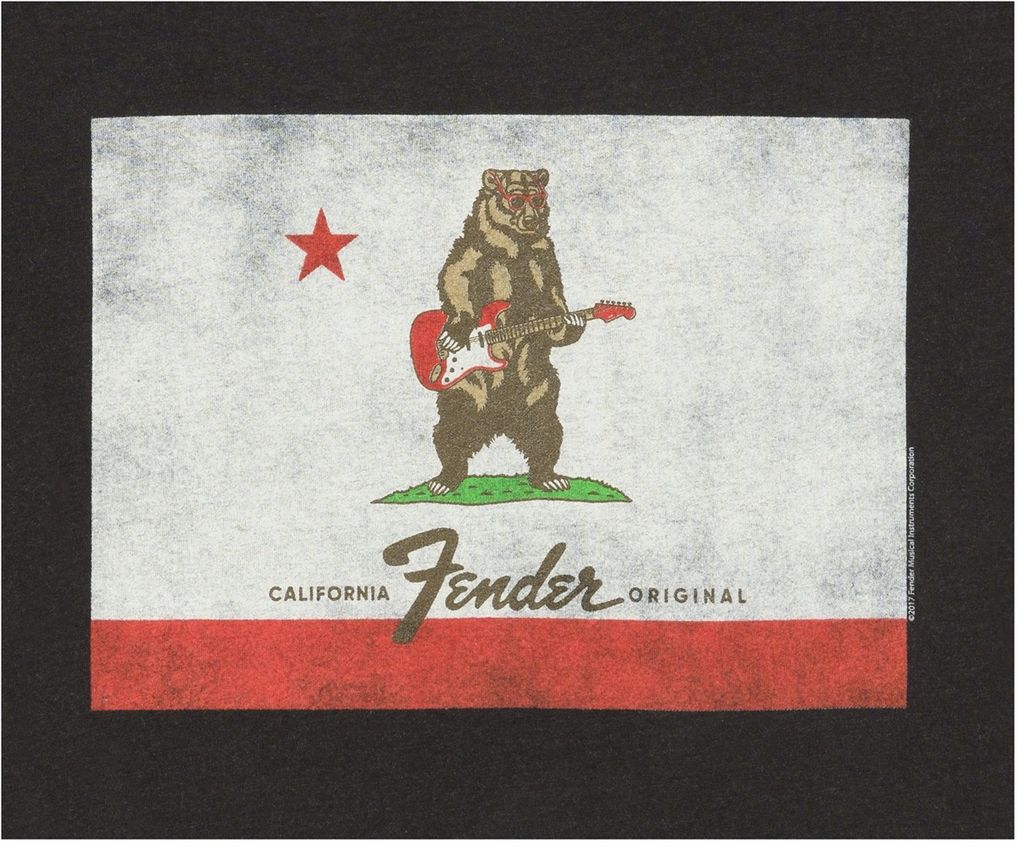 Fender - Bear Flag T-Shirt, S