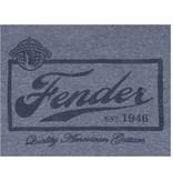 Fender - Blue Beer Label T-Shirt, S