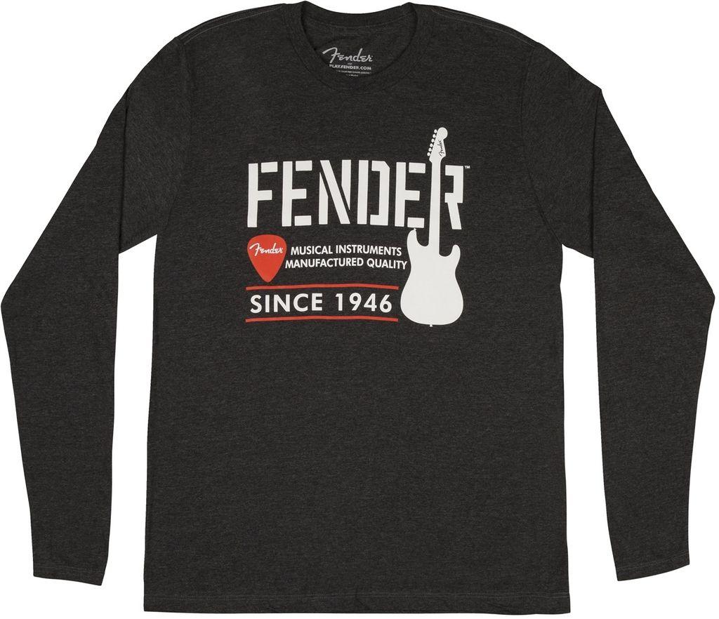 Fender - Industrial Gray Long Sleeve Shirt, M