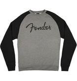 Fender - Unisex Logo Gray Pullover, S