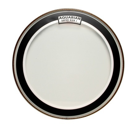 Aquarian - Super Kick I Clear Bass Drumhead, 22""