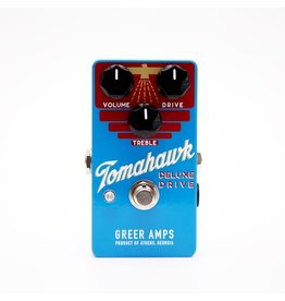 Greer Amps - Tomahawk Deluxe Drive Pedal