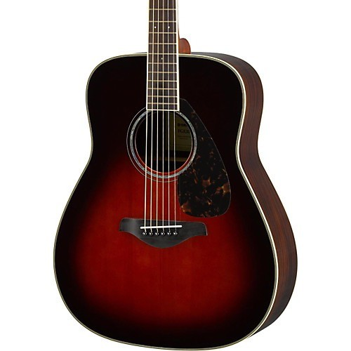 Yamaha - FG830 Acoustic, Tobacco Brown Burst
